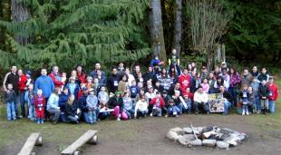 Military families participate in one of two National Military Family Association Operation Purple family retreats, a pilot program, in March 2009. The retreats helped families reconnect after a service member's return from deployment. Samantha Quigley