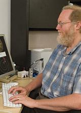 Stephen Eubank is a physicist at Virginia Tech University. Photo: John McCormick