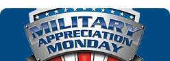 The 2008 Military Appreciation Monday dinner will be held on Monday, November 17, 2008 from 5 pm to 9 pm in all Golden Corral Restaurants.