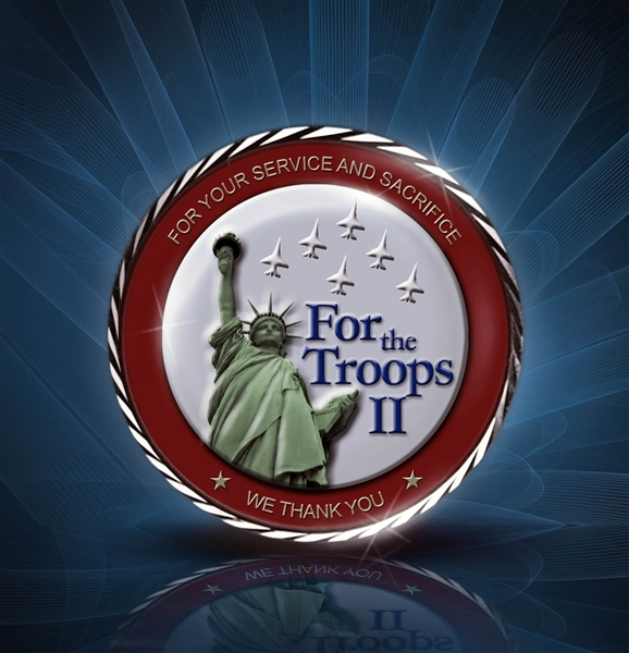 "Spearheaded by John Ondrasik of the band Five For Fighting, ""For the Troops II,"" is a musical tribute to the military. In addition to Ondrasik's band, 13 others lent their talents to thank the troops. Courtesy photo by CD For the Troops II"