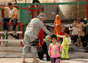 Airmen play goodwill role at Camp Bucca 