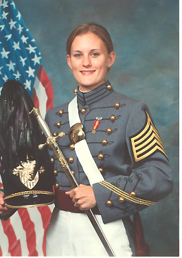 1st Lt. Megan Kelvington graduated from West Point 25 years to the day of her mother and fellow alumni Meg Kulungowski on May 27, 2006. Kelvington is the first academy graduate who is the daughter of West Point alumni parents. Kelvington, who said she always knew she wanted join the Army, is an aviator on her way to a Military Intelligence Battalion at Hunter Army Airfield in Savannah, Ga.