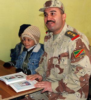 Col. Malik Khder Ahmed Khochnow Photo by Staff Sgt. Margaret C. Nelson